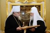 Состоялась встреча Святейшего Патриарха Кирилла с Блаженнейшим Митрополитом Варшавским и всей Польши Саввой