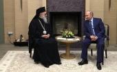 Состоялась беседа Президента России В.В. Путина с Блаженнейшим Патриархом Антиохийским Иоанном X