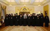 Зустріч Святішого Патріарха Кирила з делегацією Болгарської Православної Церкви