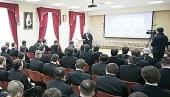 Митрополит Ростовский Меркурий встретился со студентами Донской духовной семинарии