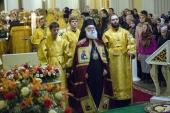 Патріарх Олександрійський Феодор II звершив Божественну літургію в Олександро-Невській лаврі