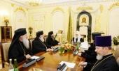 Состоялась встреча Святейшего Патриарха Кирилла с делегацией Грузинской Православной Церкви