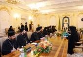 Святейший Патриарх Кирилл встретился с делегацией Болгарской Православной Церкви