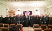 Курсы для руководителей епархиальных отделов по взаимодействию с казачеством прошли в Общецерковной аспирантуре и докторантуре