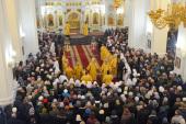 Патриарший экзарх всея Беларуси возглавил торжества в честь 25-летия возрождения Витебской епархии