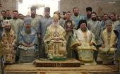 Предстоятель Александрийской Церкви совершил Литургию в Ново-Тихвинском монастыре Екатеринбурга