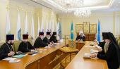 Состоялось последнее в 2017 году заседание Епархиального совета Астанайской и Алма-Атинской епархии Казахстанского митрополичьего округа