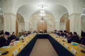 В Храме Христа Спасителя состоялось итоговое заседание Оргкомитета XXVI Международных Рождественских образовательных чтений