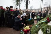 Митрополит Киевский Онуфрий почтил память ликвидаторов аварии на Чернобыльской АЭС