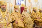 Тезоименитство почетного Патриаршего экзарха всея Беларуси митрополита Филарета молитвенно отметили в Минске