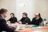 В Общецерковной аспирантуре состоялось заседание рабочей группы по преподаванию теологии в вузах
