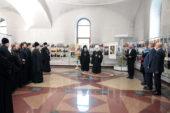 В Успенском соборе Ярославля открылась фотовыставка «Александр Невский — имя России»