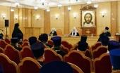 Святейший Патриарх Кирилл провел расширенное заседание Епархиального совета г. Москвы