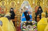 В день памяти святителя Николая Чудотворца митрополит Астанайский Александр совершил Литургию в Никольском соборе Алма-Аты