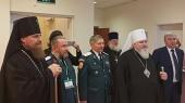 При участии Синодального комитета по взаимодействию с казачеством в Салехарде прошла конференция, посвященная развитию духовно-нравственных традиций российского казачества