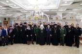 Певчие хора духовенства Московской епархии награждены медалями Министерства обороны РФ