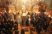В день святителя Николая престольные торжества состоялись в Патриаршем соборе Нью-Йорка