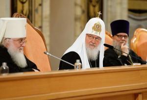 Святейший Патриарх Кирилл: Церковный бюджет находится под строжайшим контролем