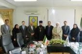 Секретарь ОВЦС по межрелигиозным отношениям посетил Иран
