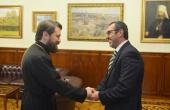 Состоялись встречи председателя Отдела внешних церковных связей с послами Португалии и Болгарии в России