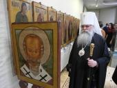 Открытие выставки икон XVII века и презентация книги о прп. Диодоре Юрьегорском состоялись в столице Карелии