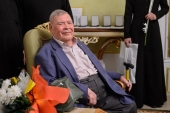 Митрополит Астанайский Александр поздравил выдающегося российского оперного певца А.Ф. Ведерникова с 90-летием со дня рождения