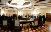 Святейший Патриарх Кирилл возглавил последнее в 2017 году заседание Высшего Церковного Совета
