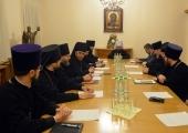 Митрополит Волоколамский Иларион возглавил заседание коллегии ОВЦС