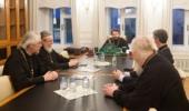 Под председательством митрополита Волоколамского Илариона прошло заседание Редакционного совета «Журнала Московской Патриархии»