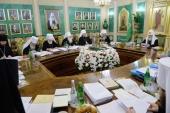 Последнее в 2017 году заседание Священного Синода Русской Православной Церкви прошло в Даниловом монастыре в Москве