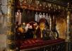Патриаршее служение в день памяти святителя Петра Московского в Успенском соборе Кремля