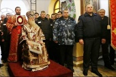 В день памяти Анастасии Узорешительницы глава Кубанской митрополии посетил осужденных в колонии г. Хадыженска