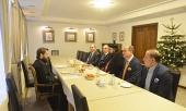 Председатель ОВЦС встретился с делегацией Сиро-Яковитской Церкви