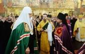 Слово Святейшего Патриарха Кирилла при вручении архиерейского жезла Преосвященному Марку (Давлетову), епископу Воркутинскому и Усинскому
