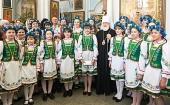 Патриарший экзарх всея Беларуси поздравил с праздником Рождества Христова детей из районов, пострадавших от катастрофы на Чернобыльской АЭС