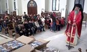 Православные дети в сирийской Латакии получили рождественские подарки от московского прихода