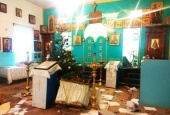 В г. Черноморске Одесской области вандалами осквернен и ограблен храм