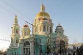 Патриаршее служение в праздник Богоявления в Богоявленском кафедральном соборе в Москве