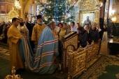 В праздник Обрезания Господня Блаженнейший митрополит Киевский Онуфрий совершил Литургию в Банченском монастыре