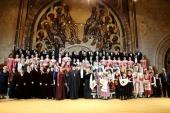 В Москве прошел Рождественский гала-концерт фестиваля «Песнопения христианского мира»