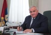 Поздравление Святейшего Патриарха Кирилла губернатору Костромской области С.К. Ситникову с 55-летием со дня рождения