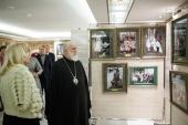 Патриарший экзарх всея Беларуси возглавил церемонию открытия выставки «Венценосная семья. Путь любви» во Всехсвятском храме Минска
