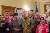 Освобожденные из плена военные поблагодарили Предстоятеля Украинской Православной Церкви