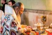 Митрополит Киевский Онуфрий возглавил Литургию в Покровском соборе Борисполя