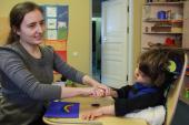 При поддержке православной службы помощи «Милосердие» и Марфо-Мариинской обители в России появился первый бесплатный ресурсный центр для родителей детей с ДЦП