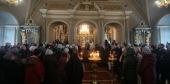 В праздник Крещения Господня Патриарший наместник Московской епархии совершил Литургию в Новодевичьем монастыре