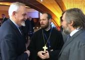 Представитель Московского Патриархата при Совете Европы принял участие в открытии выставки «Гора Афон» вСтрасбурге