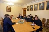 Председатель ОВЦС встретился с представителями Высшего комитета по переговорам сирийской оппозиции