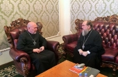 Состоялась встреча митрополита Астанайского с руководителем Евангелическо-лютеранской общины Казахстана