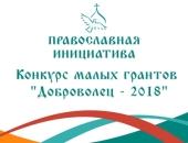 «Православная инициатива» объявляет о старте конкурса малых грантов «Доброволец — 2018»